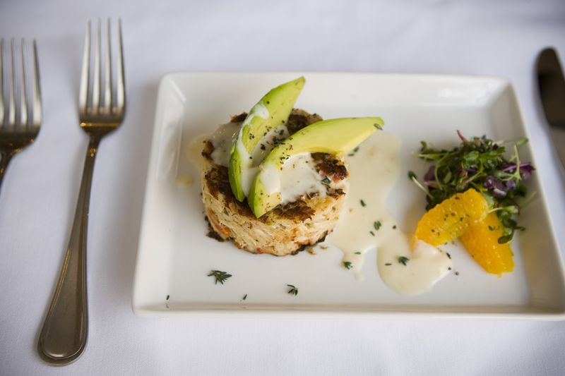 Westin Grand Cayman - Chef Farrell - Crab Cake (1)